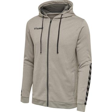 adidas authentic zip hoodie grau